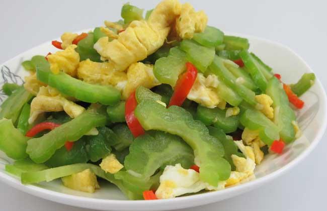苦瓜炒蛋可以减肥吗?