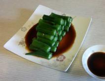 白煮秋葵的功效及做法