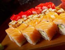三文鱼寿司的功效及做法