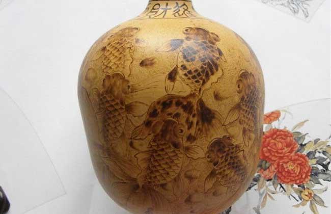 葫芦工艺品的制作方法