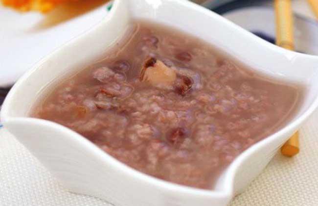 菱角红豆粥