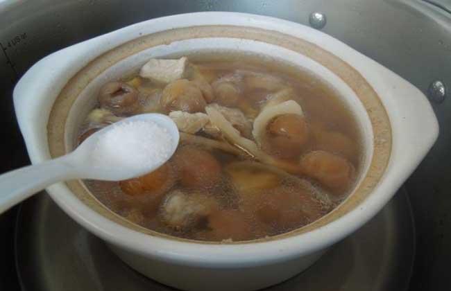 菱角瘦肉汤