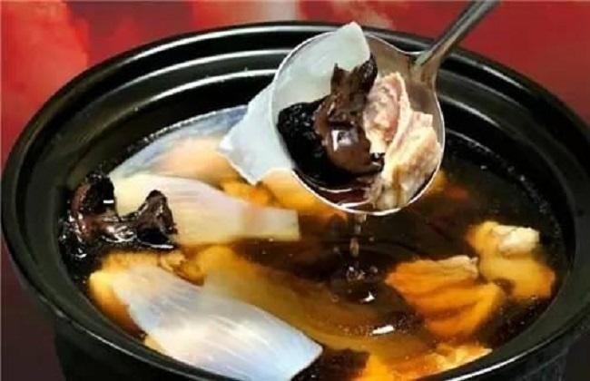 天麻猪肉排骨火锅