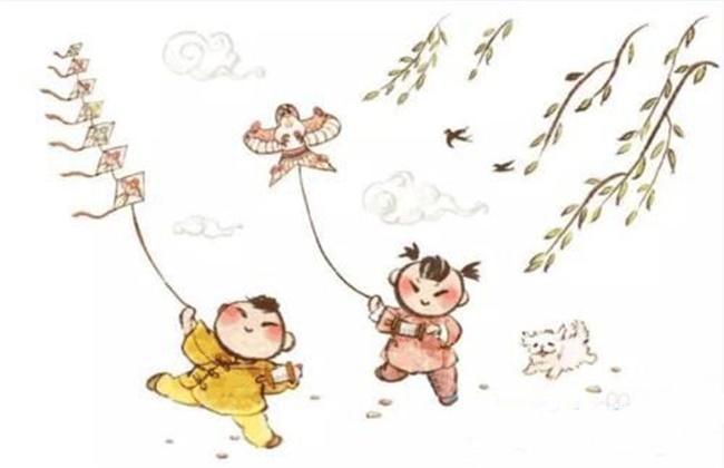 端午节放风筝